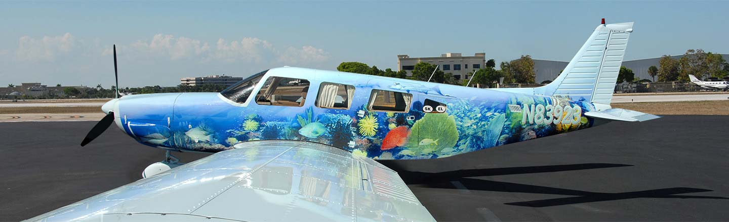 airplane wrap