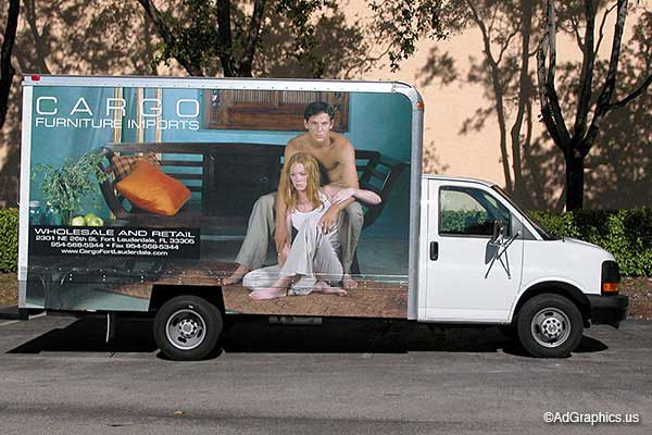 Box Van Wrap