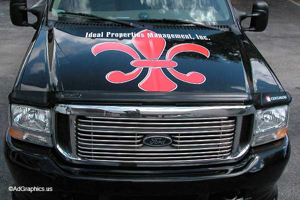 Dully Truck Decals