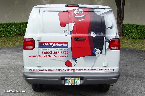 Reflective Van Wrap
