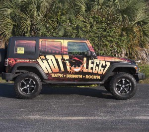 Vehicle Wrap South Florida