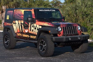 Custom Car Wrap Pompano Beach, FL