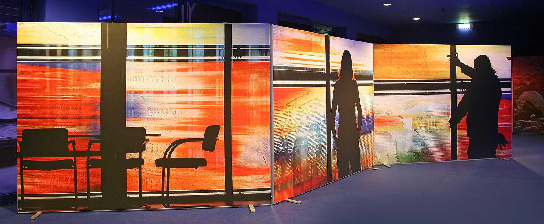 lighted room dividers