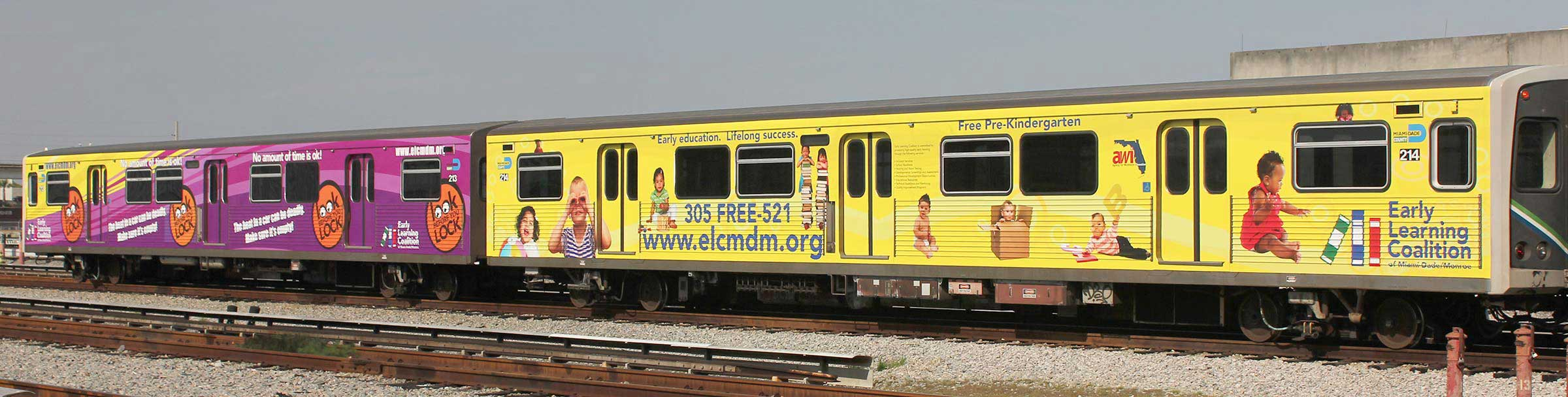 Train Car Wrap