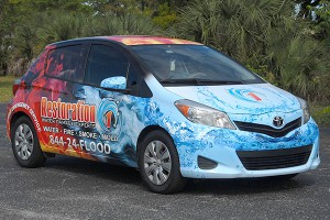 Custom Car Wraps in Pompano Beach