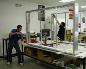 Light box fabrication