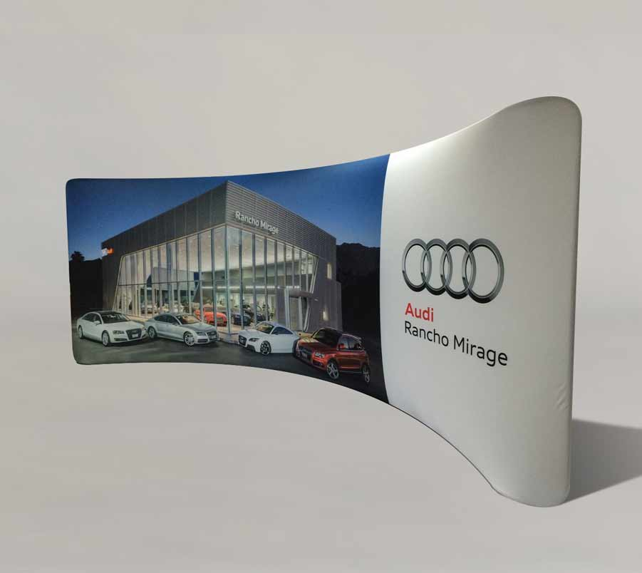 Dye Sublimation Tradeshow Backdrop