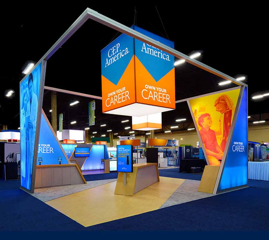 Dye Sublimation Tradeshow Booth