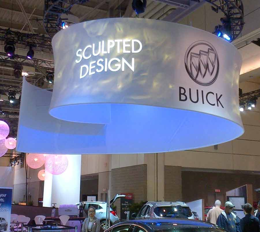 Dye Sublimation Tradeshow Booth Header